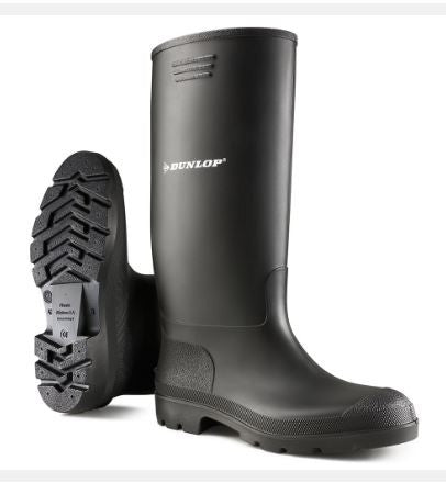 DUNLOP NON-SAFETY WELLINGTON BLACK
