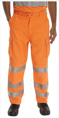 HI VIS TROUSERS RAILSPEC
