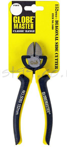 GLOBEMASTER CLASSIC 6IN (152MM) DIAGONAL SIDE CUTTER PLIERS