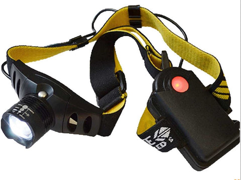 LIGHTHOUSE 3W 3 FUNCTION HEAD TORCH