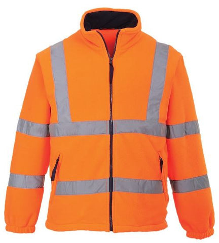 HI VIS FLEECE MESH LINED PORTWEST - ORANGE