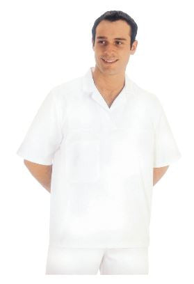 BAKERS SHIRT SHORT SLEEVE WHITE - PORTWEST