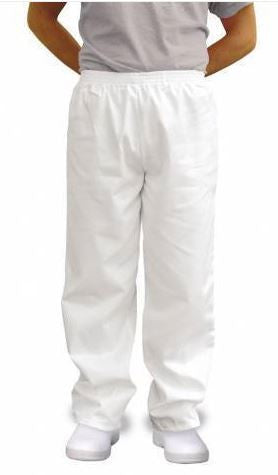 BAKERS TROUSERS WHITE - PORTWEST