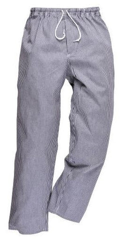 CHEFS TROUSERS SMALL CHECK -PORTWEST