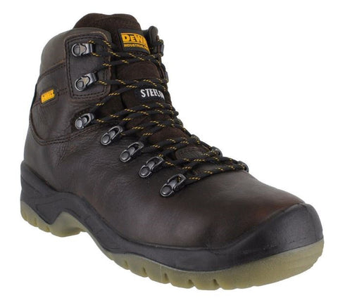 DEWALT SAFETY BOOTS TAN BROWN