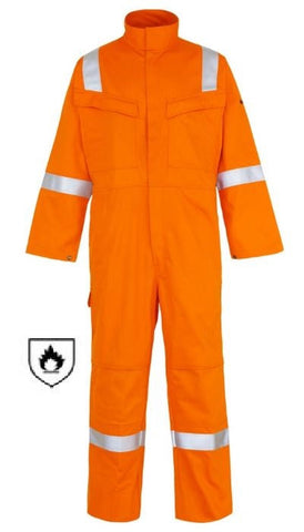 WELD-TEX® PLUS FR ANTISTATIC COVERALL - ORANGE