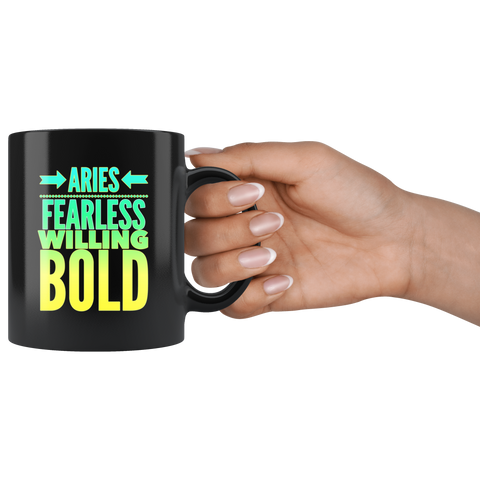 Aries Astrology Horoscope Quote mug