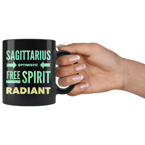 Sagittarius Quote Astrology Mug