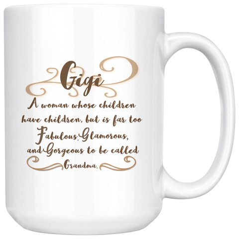 Too Fabulous To Be Called Grandma Mug