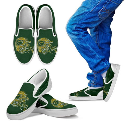 Green Bay Kids Slip On Shoes