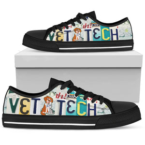 Vet Tech Men's Low Top Graphic Shoes