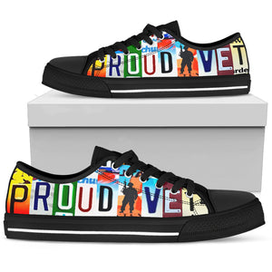 Proud Vet Custom Low Top Canvas Shoes