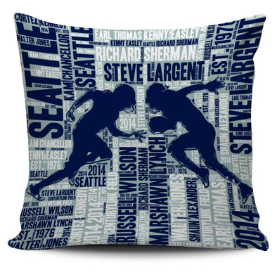 Seattle Football Players Pillowcase