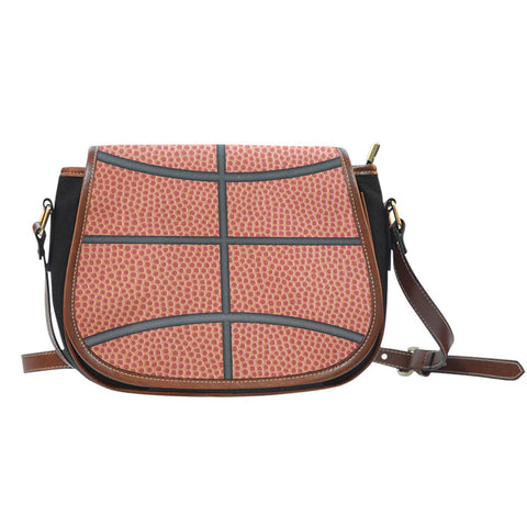 Image of basketball crossover saddle bag purse