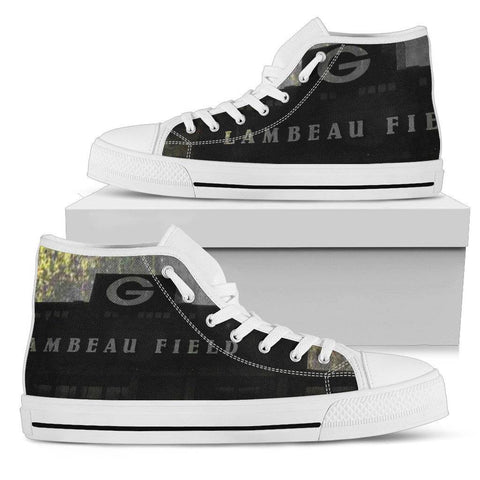 Lambeau Grunge Mens High Top Shoes