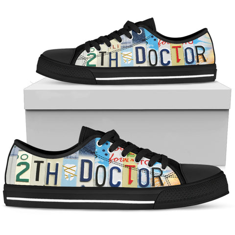 Dentist Custom Shoes 2th Doctor Fun Men's Low Top Shoes