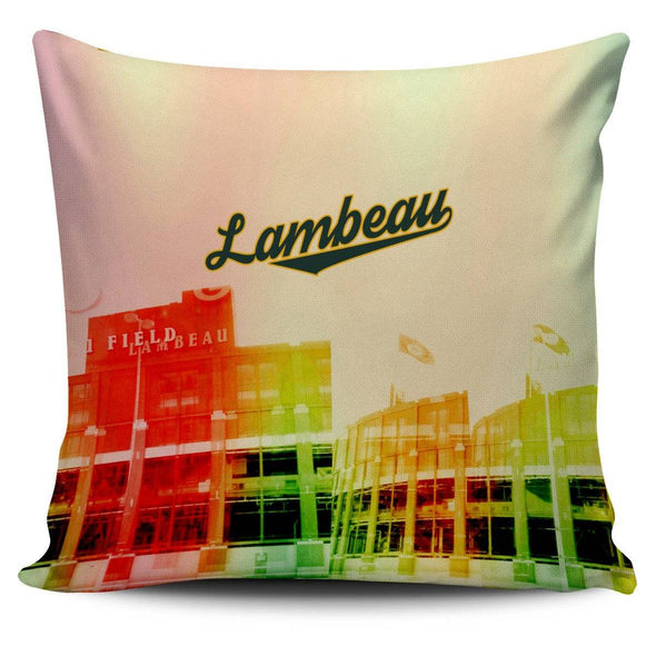 Lambeau Football Pillowcase