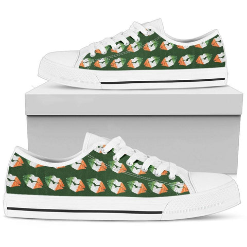 Irish Kisses Ladies Low Top Shoes