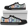 wine me up men's graphic low top shoes