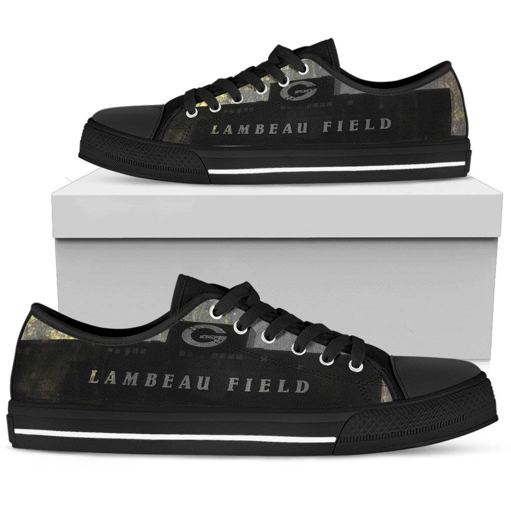 Green Bay Packers Shoes Low Top Sneakers