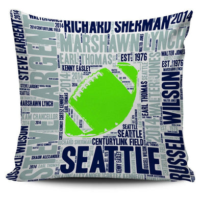Seattle Football Pillowcase