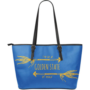 Golden State of Mind Vegan Leather Tote