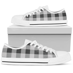 buffalo check casual shoes for men