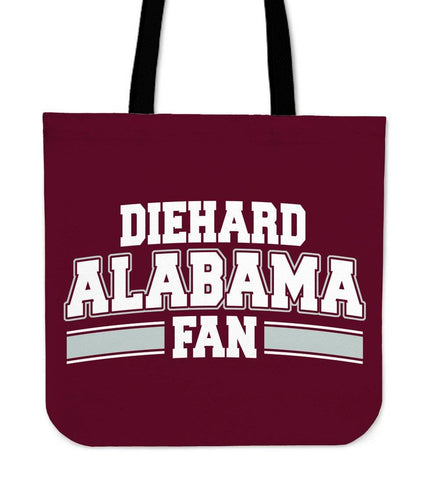 Diehard Alabama Fan Totebag