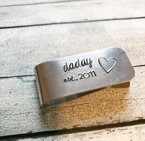 Personalized Custom Money Clip Gift
