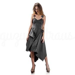 Handkerchief Asymmetric Dress
