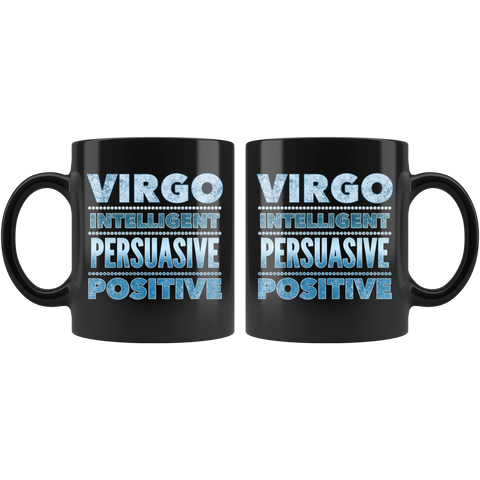 Image of virgo astrology horoscope quote mug