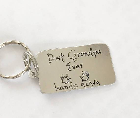 Best Grandpa Ever key chain