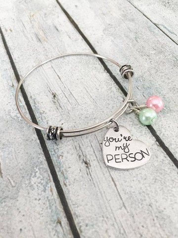 Image of You're My Person BFF bracelet
