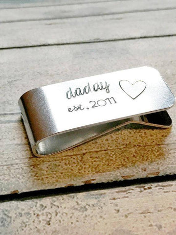 Image of Personalized Custom Money Clip Gift