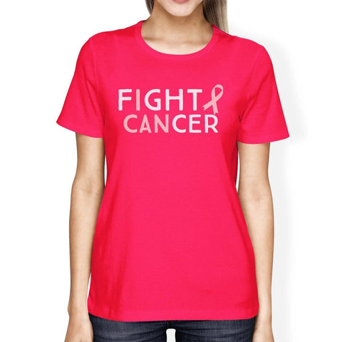 Image of Fight Cancer I Can Womens Shirt