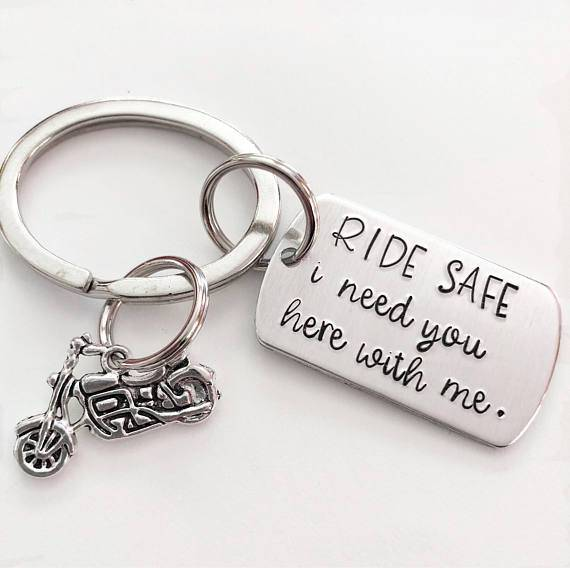 key chain for motorcycle riders