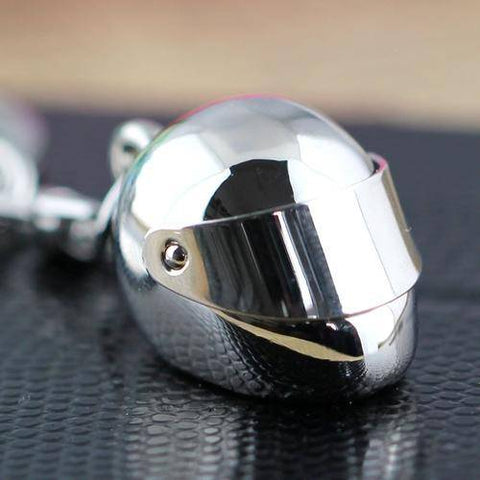 Image of Motorcycle Helmet Keychain