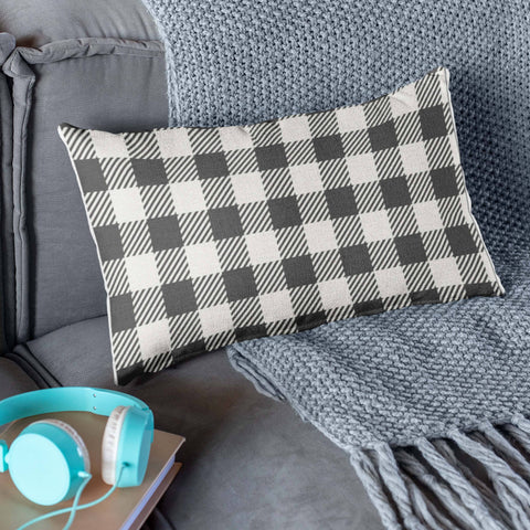 buffalo check black and white pillows and pillowcases buffalo plaid