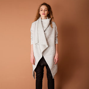 Women's Drape Spring Coat