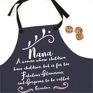 Too Fabulous To Be Called Grandma Apron