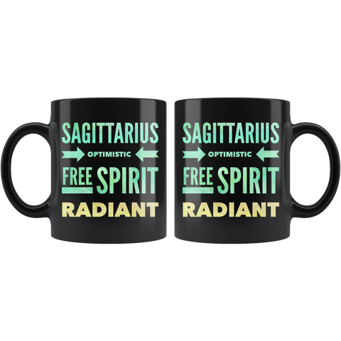 Image of Sagittarius Quote Astrology Mug