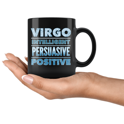 virgo astrology horoscope quote mug