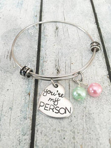 You're My Person BFF bracelet