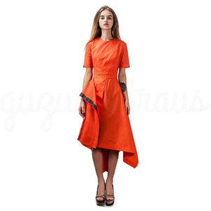 Cheery Citrus Dress