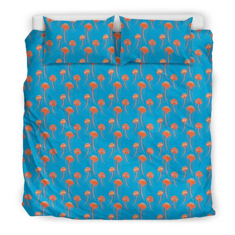 Image of Jellyfish Duvet Cover