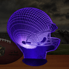 Football Helmet 3D LED Lamp