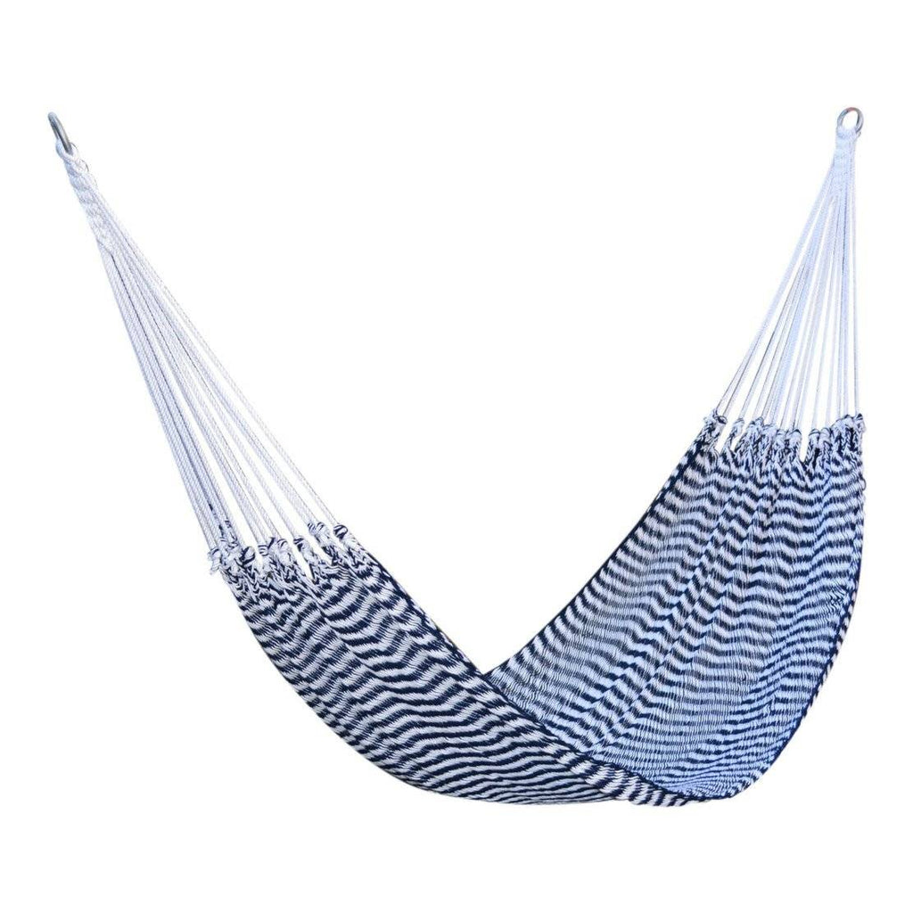 Navy & White Striped Hammock for Two