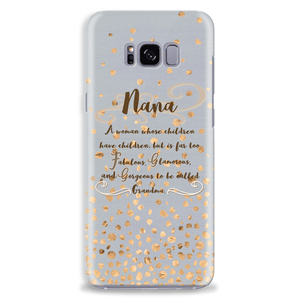 Nana Gift Idea Mobile Phone Case