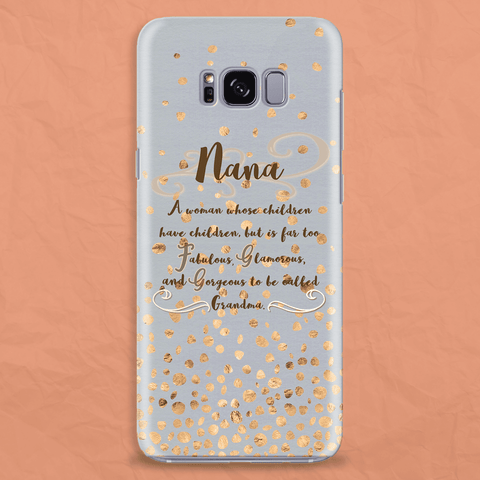 Image of Nana Gift Idea Phone Case