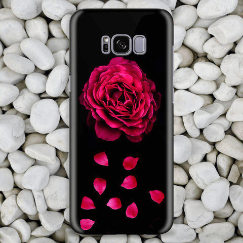 Pink Rose Art Phone Case
